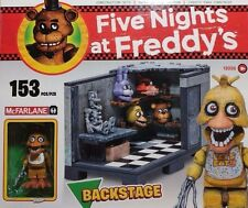 Five Nights at Freddy's Back Stage McFarlane Toys Construction Set ~IN HAND~