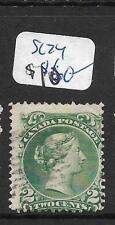 CANADA (P0909B) LARGE QUEEN 2C SC 24  VFU