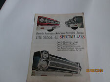 Rambler Announces 1965 Most Sweeping Changes  dealer sales brochure.