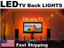 "LED back light KIT for ANY tv UNIVERSAL FIT 32"" 40"" 42"" 50"" 55"" 60"" 65"" inch in."