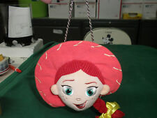 Disney Store TOY STORY COWGIRL JESSIE HAT BRAID Plush Doll Coin Purse Hand Bag