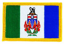 FLAG PATCH PATCHES Yukon IRON ON EMBROIDERED CANADA PROVINCE