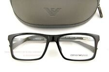 Brand New EMPORIO ARMANI Eyeglass Frames 3002 5017  BLACK for Men