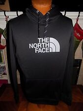 NWT The North Face Mens Surgent Half Dome Hoodie Sweatshirt BLACK GRAY MED $55