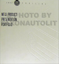 1993 Cadillac Dealer Album Data Book Color and Upholstery all models inc Allante