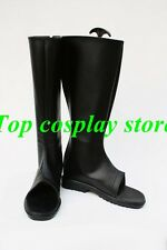 Naruto Uchiha Itachi Anime Akatsuki Ninja Ninjia Cosplay Shoes boots long black