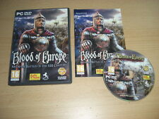 BLOOD OF EUROPE Medieval Battles Of The XIII Century Pc DVD Rom 13th FAST POST