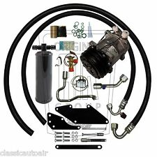 70 CHARGER SMALL BLOCK AC COMPRESSOR UPGRADE KIT A/C Air Conditioning 134a