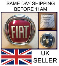 Fiat Punto Evo & Bravo Push Button Boot / Tailgate Badge New GENUINE 735579354