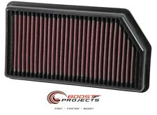 K&N Panel Air Filter for 12-16 KIA CEE D 1.6L and 14-16 KIA FORTE5 1.6L 33-3008