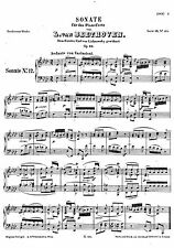 Framed Vintage Music Sheet – Beethoven's Funeral March (Symphony Orchestra Art)