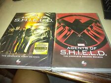 Agents of SHIELD: Complete Season 1 and 2 DVD  BRAND NEW!!!  FREE SHIP!!!