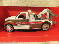 """MAISTO SONS OF ANARCHY TELLER & MORROW TOW TRUCK 1:24  #32305  """"GOLD & WHITE"""""""