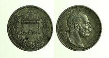 pcc1211_10)  1 CORONA 1915  Franz Josef  ungheria