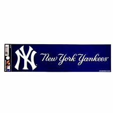 "MLB Licensed New York Yankees 3""x12"" Fan Zone Bumper Stickers"