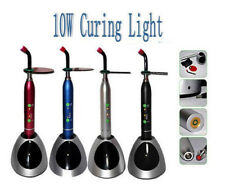 New Dental 10W Wireless Cordless LED Curing Light Lamp 2000mw US Stock Silver