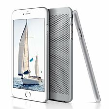iPhone 6/6S Case Cover Protective Anti-scratch Mesh Flexible (Silver)