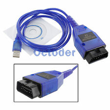 KKL VAG-COM 409.1 OBD2 OBD II USB Cable Auto Scanner Diagnostic Tool Interface