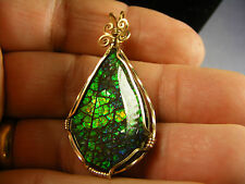 RARE AND BEAUTIFUL AMMOLITE JEWELRY!! ONE-OF-A-KIND FOSSIL GEMSTONES!!    #ii