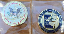 US Marshals Service - MUSEUM challenge coin - seal version