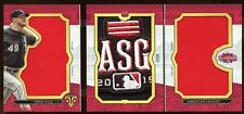CHRIS SALE 2016 TRIPLE THREADS 1/1 *ALL STAR* GAME WORN PATCH LOGO SLEEVE   WOW