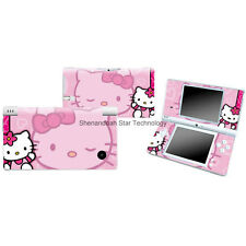 Vinyl J437 pink HELLO KITTY Decal skin cover case for Nintendo DSI NDSI sticker