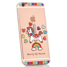 FANTASY TPU Cute Colourful Creative Novelty iPhone Soft Gel Back Case Cover