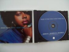ANGIE STONE - WISH I DIDN'T MISS YOU - PROMO CD-SINGLE