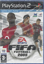 Ps2 PlayStation 2 **FIFA FOOTBALL 2005** nuovo sigillato versione import inglese