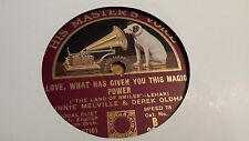 WINNIE MELVILLE LOVE WHAT HAS GIVEN YOU THIS MAGIC POWER  HMV B3885