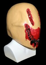 Full Head Latex Smiley Man Mask Fancy Dress Smiler Halloween Gory Smile Zombie