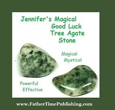 Magical Good Luck Tree Agate Stone To Help Me Win Money Love Success & Lottery