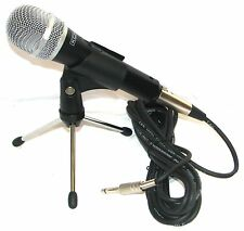 HIGH QUALITY HEAVY DUTY DYNAMIC PROFESSIONAL XLR MICROPHONE, LEAD & TABLE TRIPOD