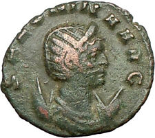 Salonina daughter in law of Valerian I Ancient Roman Coin Modesty Cult  i27417