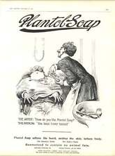 1905 Plantol Soap Best I Ever Tasted Lawson Wood? Cartoon Moscow Marketplace