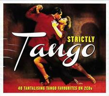 STRICTLY TANGO - 40 TANTALISING TANGO FAVOURITES  (NEW SEALED 2CD)