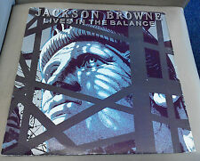Jackson Browne Lives in The Balance Excellent Vinyl Record LP EKT 31