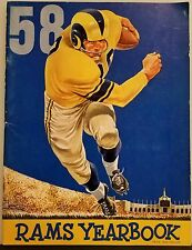1958 RAMS Yearbook  Los Angeles LA RAMS NFL Football