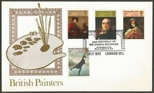 Great Britain 1973 British Paintings  ROYAL ACADEMY FDC