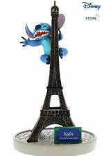 Disney Stitch Climbing the Eiffel Tower Resin Figurine New