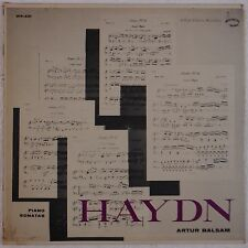 HAYDN: Piano Sonatas ARTUR BALSAM Washington 50s ORIG vinyl LP NM