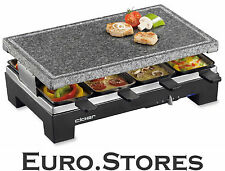 Cloer Electric Raclette Grill With Stone Plate 6420 Genuine New Best Gift
