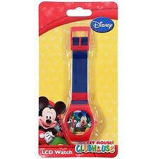 Disney Junior Mickey Mouse Clubhouse Licensed LCD Digital Kids Watch - Blue
