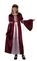 Girls Rennaissance Princess Medieval Fairytale Gown Costume Outfit New 6 8 10 12