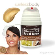 Self Tan MOROCCAN MINERAL FACIAL TANNER Tanning Lotion