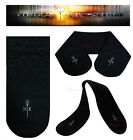 Hells Kitchen Black Double Heat Resistant Oven Gloves Kitchen cooker