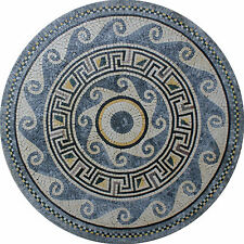 Passion Floor Decor Round Medallion Marble Mosaic MD1347
