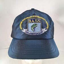 BASS Bass Anglers Sportsman Society 25th Anniversary Satin Nylon Snapback Hat
