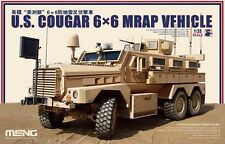 Meng Model 1/35 SS-005 U.S. Cougar 6x6 MRAP Vehicle