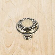 Kitchen Cabinet Hardware Knobs ku095 Antique English 1-1/4""